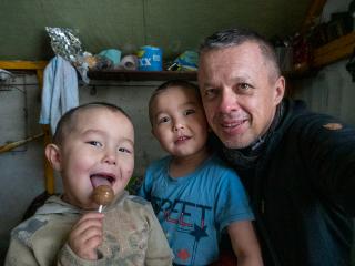 Moji kamaráti Sťopa a Anton z 9. brigády