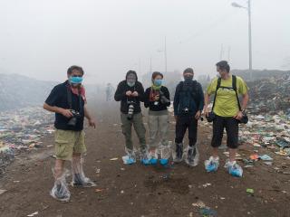 Bangladéš - smetisko