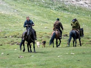 Kyrgyzstán - stretnutie s pastiermi