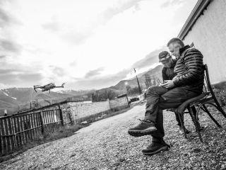 Kyrgyzstán - dronujeme