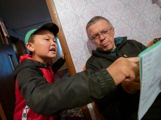 Kyrgyzstán - doučko