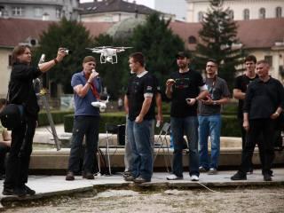 Prezentácia dronov