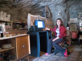 Goris – jaskynné obydlie