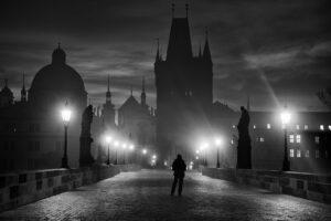 Prague in Black & White – Česko, Praha, 2010