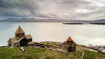 Arménsko – letecká fotografia
