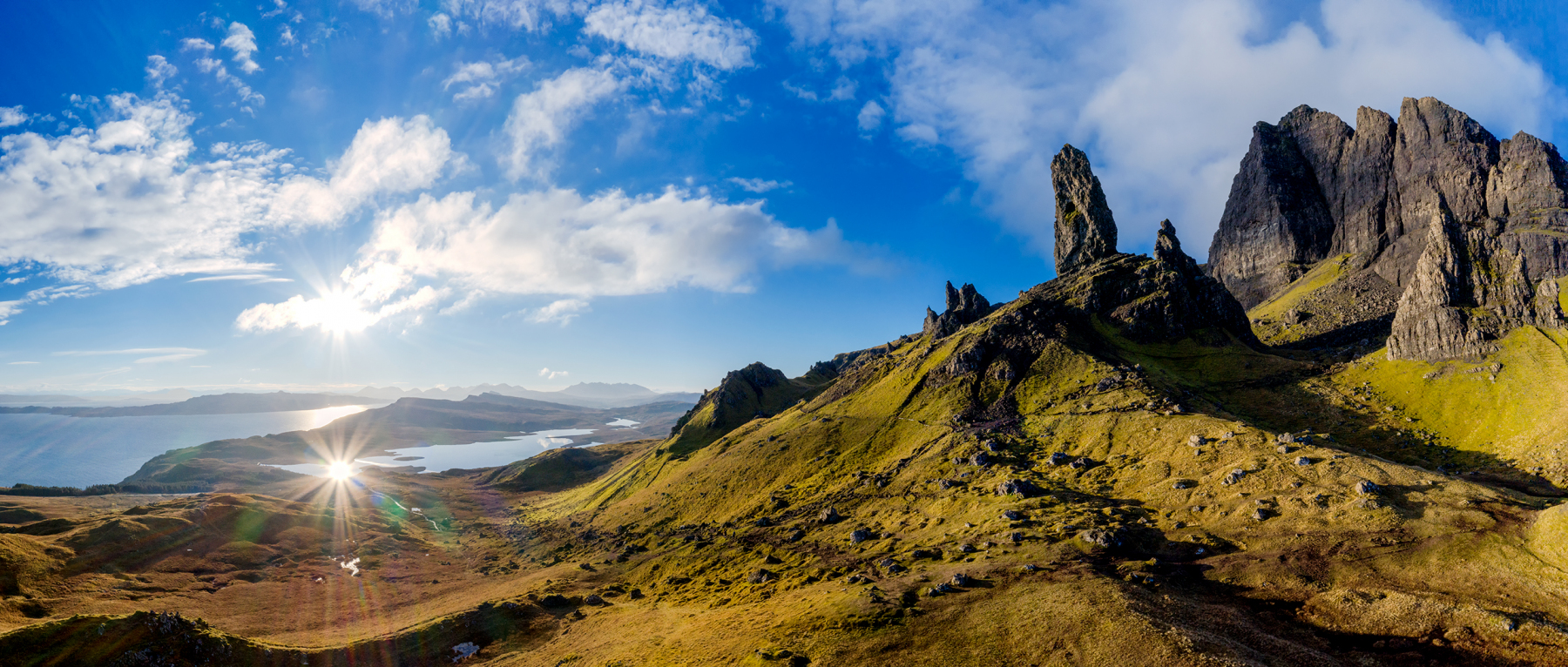Škótsko – letecká fotografia