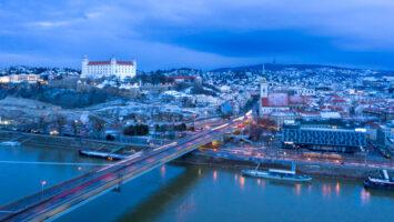 Bratislava – letecká fotografia