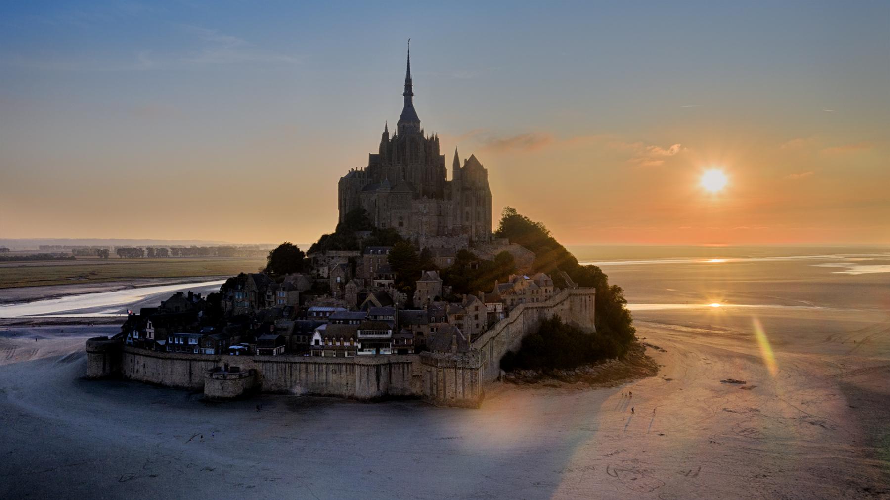 Francúzko – letecká fotografia