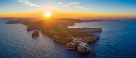 Portugalsko – letecká fotografia