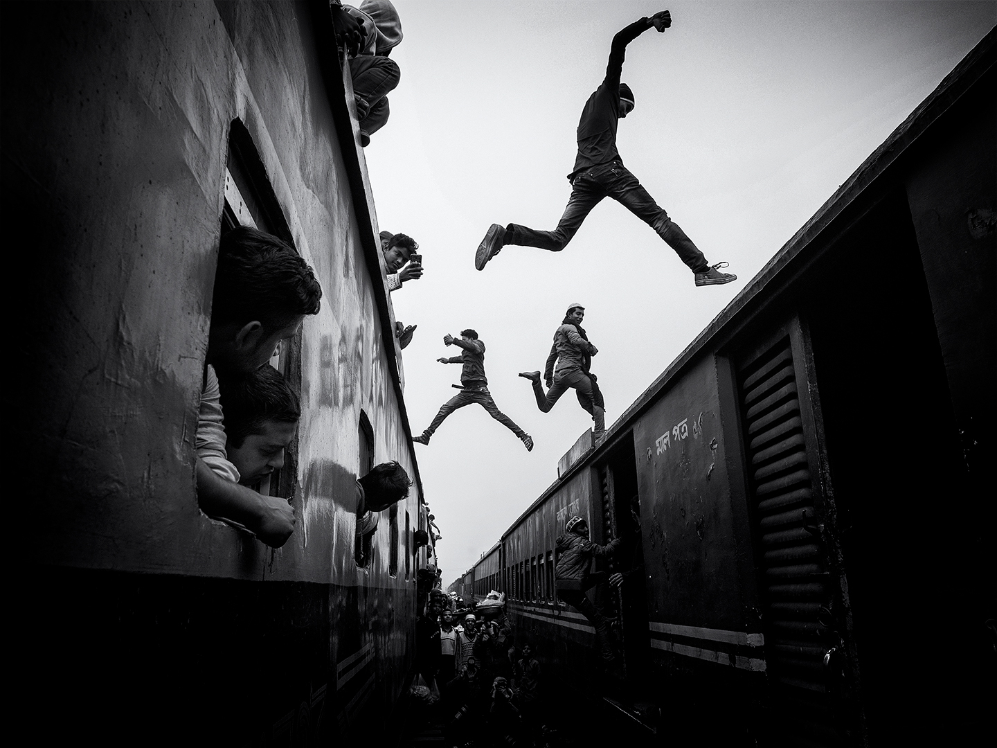 Train jumpers / Bangladéš, 2018